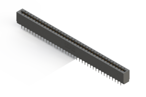 717-074-525-206 - Press-Fit Card Edge Connectors