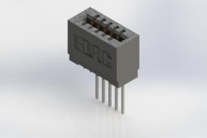 725-005-545-101 - Press-Fit Card Edge Connectors