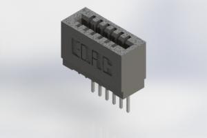 725-006-522-101 - Press-Fit Card Edge Connectors