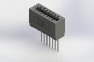 725-007-540-101 - Press-Fit Card Edge Connectors