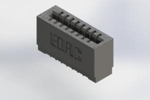 725-008-520-101 - Press-Fit Card Edge Connectors