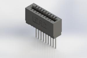725-009-540-101 - Press-Fit Card Edge Connectors