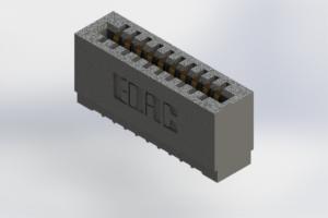 725-010-525-101 - Press-Fit Card Edge Connectors