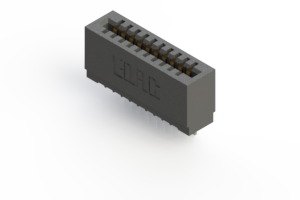 725-010-545-101 - Press-fit Card Edge Connector