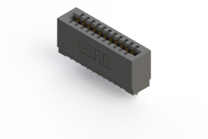 725-011-545-101 - Press-fit Card Edge Connector