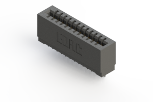 725-012-522-101 - Press-fit Card Edge Connector