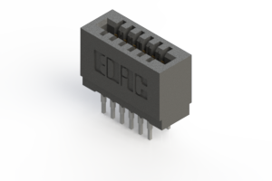 725-012-522-201 - Press-fit Card Edge Connector