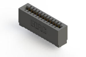 725-012-525-101 - Press-fit Card Edge Connector