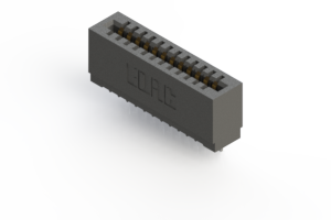 725-012-545-101 - Press-fit Card Edge Connector