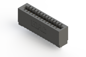 725-013-520-101 - Press-fit Card Edge Connector