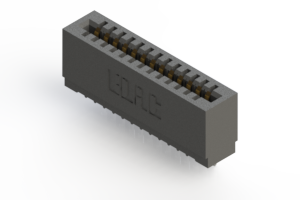 725-013-525-101 - Press-fit Card Edge Connector