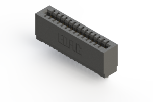 725-014-522-101 - Press-fit Card Edge Connector