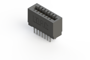 725-014-540-201 - Press-fit Card Edge Connector