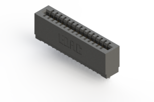 725-015-522-101 - Press-fit Card Edge Connector