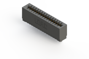 725-015-545-101 - Press-fit Card Edge Connector