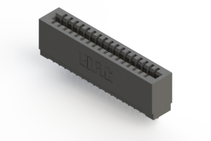 725-017-520-101 - Press-fit Card Edge Connector