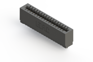 725-017-522-101 - Press-fit Card Edge Connector
