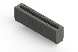 725-017-525-101 - Press-fit Card Edge Connector