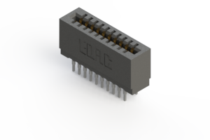 725-020-545-201 - Press-fit Card Edge Connector