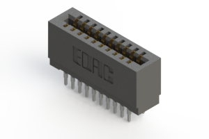 725-020-560-201 - Press-fit Card Edge Connector
