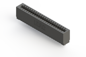 725-022-522-101 - Press-fit Card Edge Connector