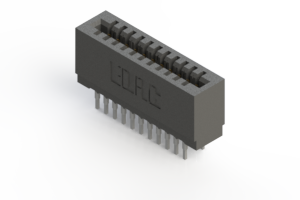 725-022-522-201 - Press-fit Card Edge Connector