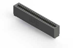 725-023-522-101 - Press-fit Card Edge Connector