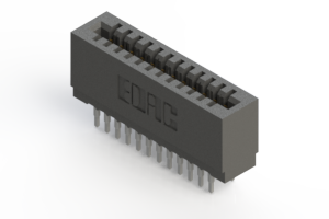 725-024-520-201 - Press-fit Card Edge Connector