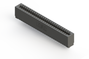 725-027-522-101 - Press-fit Card Edge Connector