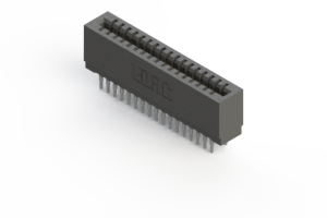 725-034-541-201 - Press-fit Card Edge Connector