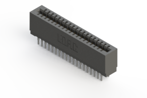 725-038-522-201 - Press-fit Card Edge Connector