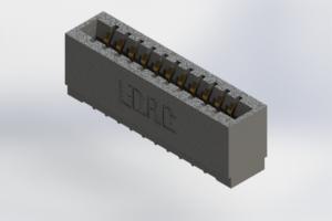 726-011-525-101 - Press-Fit Card Edge Connectors