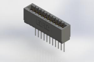 726-011-540-101 - Press-Fit Card Edge Connectors