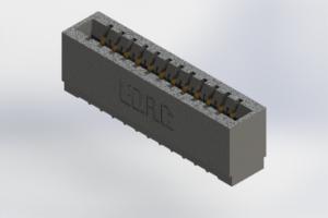 726-012-520-101 - Press-Fit Card Edge Connectors