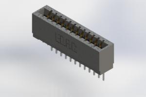 726-012-527-101 - Press-Fit Card Edge Connectors