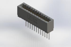 726-012-540-101 - Press-Fit Card Edge Connectors