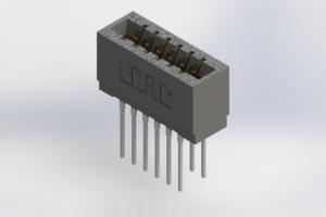 726-012-545-201 - Press-Fit Card Edge Connectors