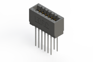 726-012-553-201 - Press-Fit Card Edge Connectors
