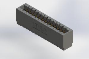 726-013-520-101 - Press-Fit Card Edge Connectors