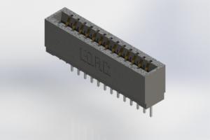 726-013-527-101 - Press-Fit Card Edge Connectors