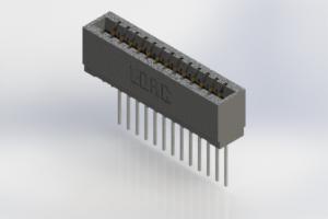 726-013-553-101 - Press-Fit Card Edge Connectors