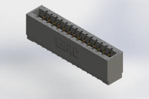 726-014-520-101 - Press-Fit Card Edge Connectors