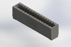 726-014-525-101 - Press-Fit Card Edge Connectors
