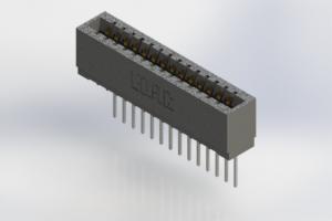 726-014-545-101 - Press-Fit Card Edge Connectors