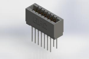 726-014-545-201 - Press-Fit Card Edge Connectors