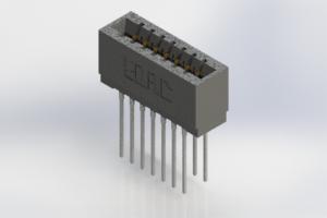 726-014-553-201 - Press-Fit Card Edge Connectors