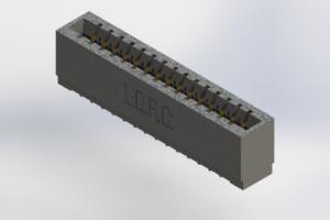 726-015-520-101 - Press-Fit Card Edge Connectors