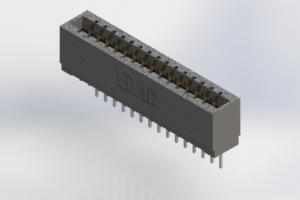 726-015-527-101 - Press-Fit Card Edge Connectors