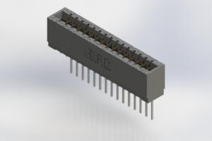 726-015-540-101 - Press-Fit Card Edge Connectors
