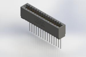 726-015-553-101 - Press-Fit Card Edge Connectors